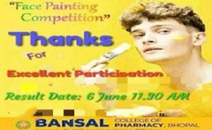 Online Face Painting Competition