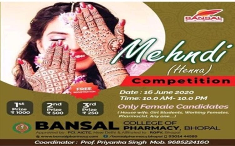 Online Mehndi Competition