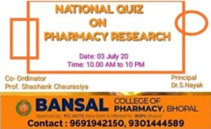 National Quiz on Pharmacy Research
