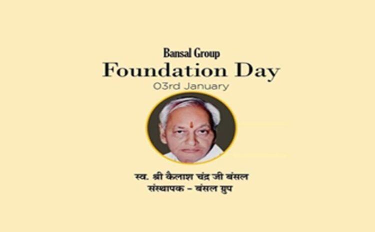 Foundation Day 3 Jan 2020