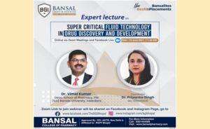 """ExpertLecture on """"Super Critical Fluid Technology in Drug Discovery and Development"""""""