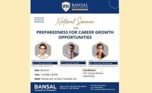 National Seminar on Preparedness for Career Growth Opportunities