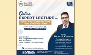 """Expert Lecture on Topic """"Role of Production Management Team in Pharma Sector"""""""